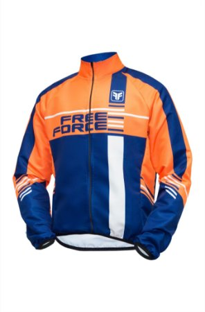 Jaqueta ciclismo masculina corta vento Free Force Mayhem