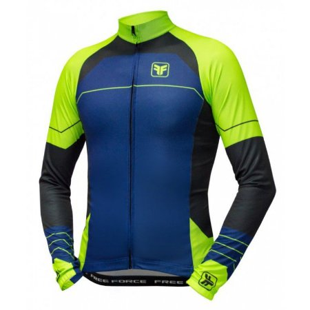 Camisa ciclismo manga longa Flat Free Force