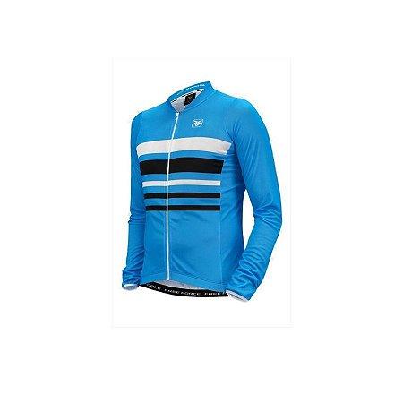Camisa ciclismo manga longa Sky Free Force
