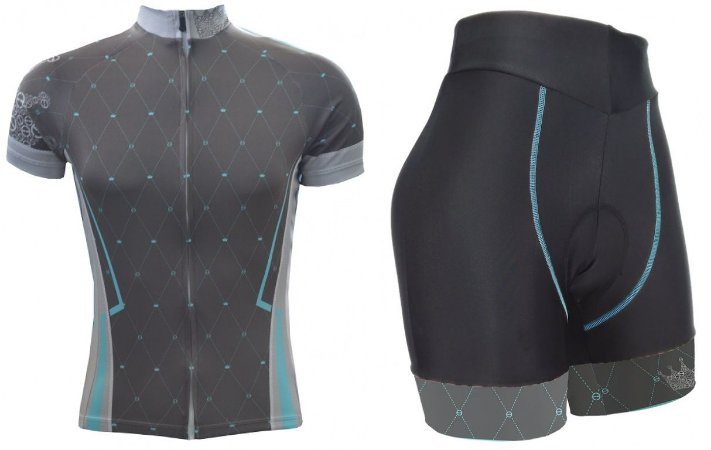 Conjunto ciclismo feminino Advanced Queen ERT