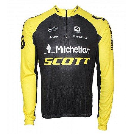 Camisa ciclismo manga longa Scott 2018 Be Fast