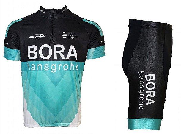 Conjunto ciclismo Bora 2018 Be Fast