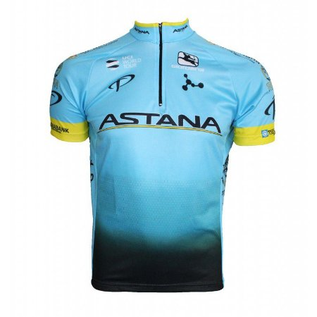 Camisa ciclismo Astana 2018 Be Fast