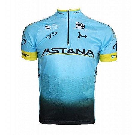 Camisa ciclismo Astana 2018 Be Fast