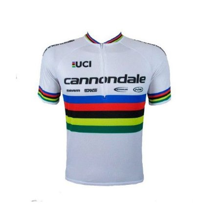 Camisa ciclismo Cannondale Campeão Mundial Be Fast
