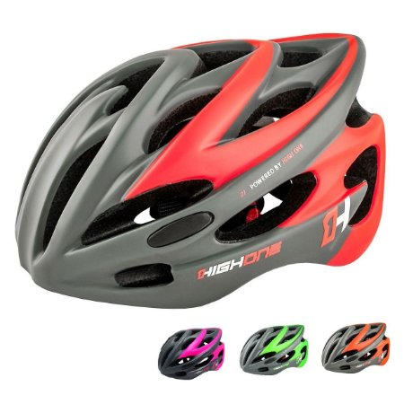 Capacete ciclismo High One Volcano 2019 com led