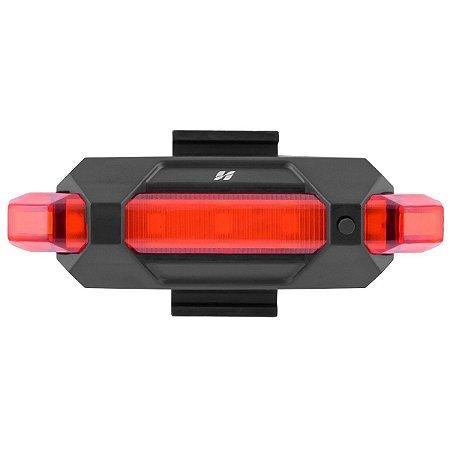 Sinalizador High One traseiro recarregável USB 50 lumens