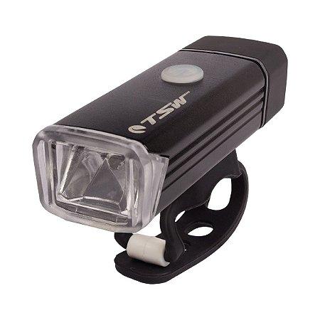 Farol TSW 180 lumens recarregável USB