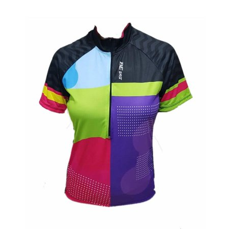Camisa ciclismo feminina Be Fast Fashion