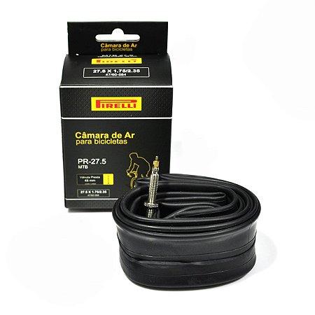 Câmara de ar Pirelli PR-27.5 27.5 x 1.75/2.35 válvula presta 48 mm