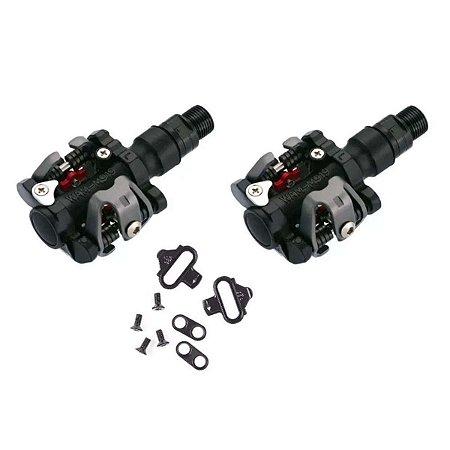 Pedal clip Wellgo M919 MTB com taquinhos