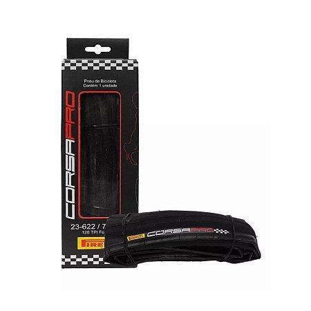 Pneu 700x23 Pirelli Corsa Pro Kevlar