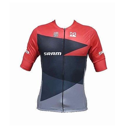 Camisa de ciclismo masculina Premium Sram Be Fast