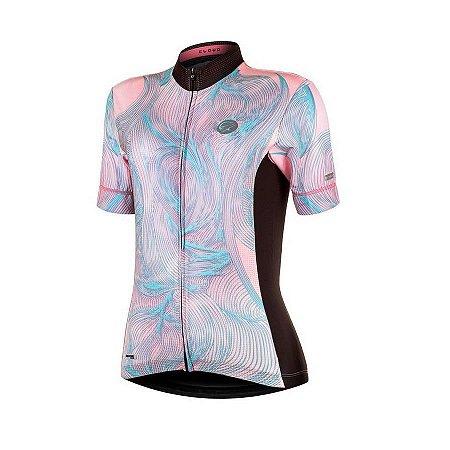 Camisa de ciclismo feminina Mauro Ribeiro Cloud