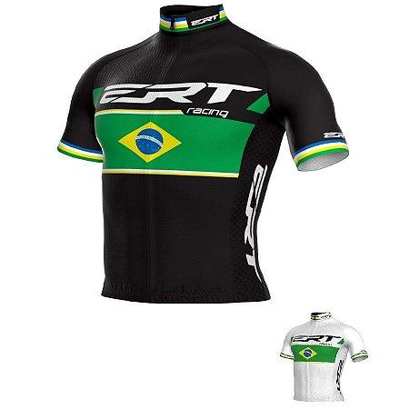 Camisa de ciclismo ERT Elite Campeão Brasileiro