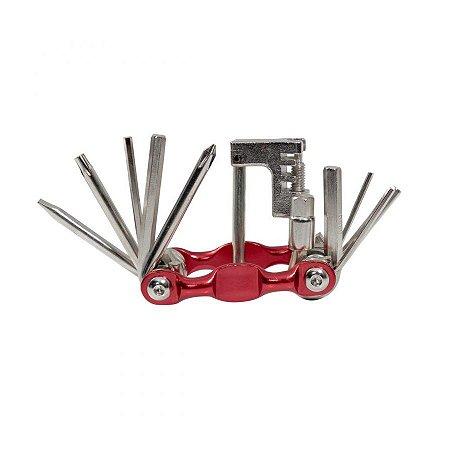 Canivete de ferramentas para bike Rava 12 funções