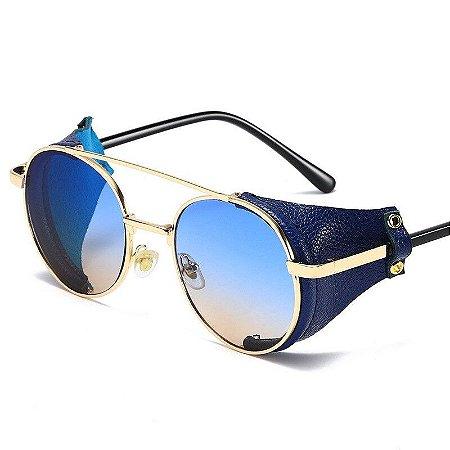 Óculos de Sol Masculino / Feminino Aviador Steampunk