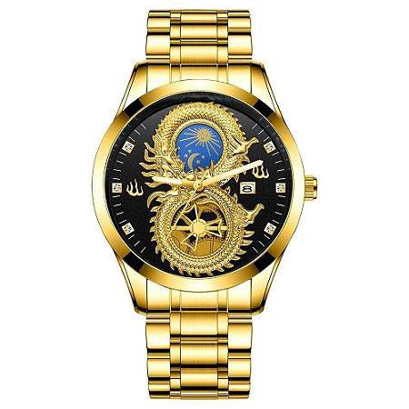 Relógio Masculino Solaris - Aço Inox