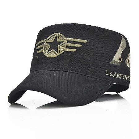 Boné Quepe Militar US Navy