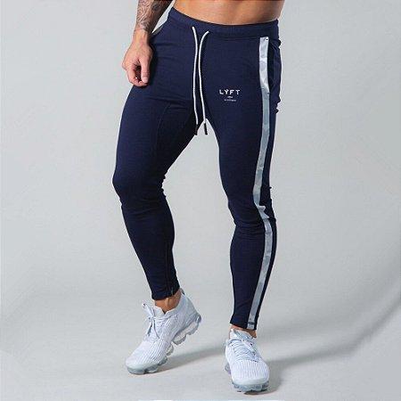 Calça de Moletom Fitness Jogger Masculina com Detalhe Camuflado