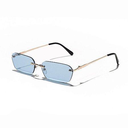 Óculos de Sol com Lentes Sem Aro