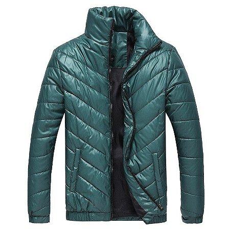Jaqueta Casaco Masculino Gola Alta Corta Vento - 3 Cores