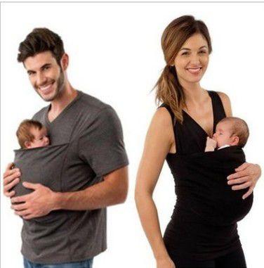 Camiseta Canguru para Papais e Mamães