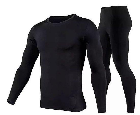 Conjunto Calça + Blusa Térmica Flanelada - Masculino ou Feminino
