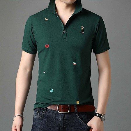 Camisa Gola Polo Masculina Sport