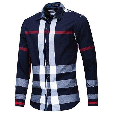 Camisa Social Xadrez Fredd Marshall