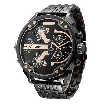 Relógio Masculino Oulm - Dual Time