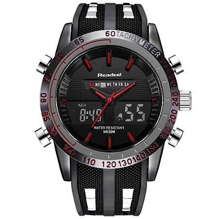 Relógio Digital Masculino Readeel WR30M