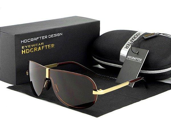 Óculos de Sol Masculino Polarizado - HDCRAFTER