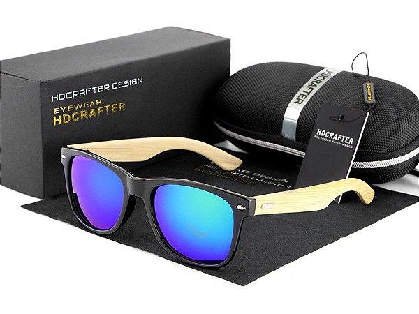 Óculos de Sol Masculino / Feminino Polarizado HDCRAFTER