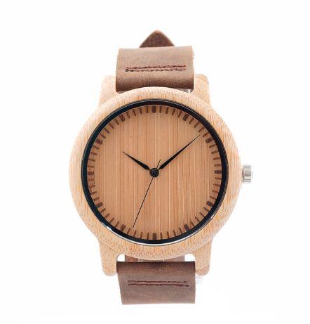 Relógio Unissex Feito em Bambu - Bobo Bird