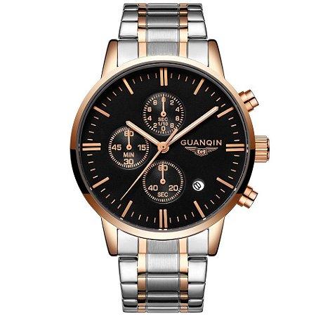 Relógio Masculino Guanqin Luxo