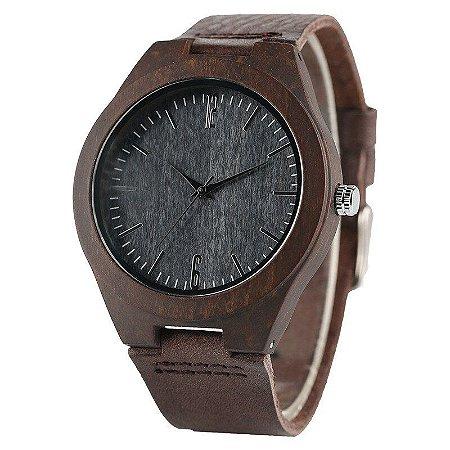 Relógio Artesanal Yusuya - Feito em Bambu