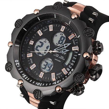 Relógio Masculino Digital Big Readeel