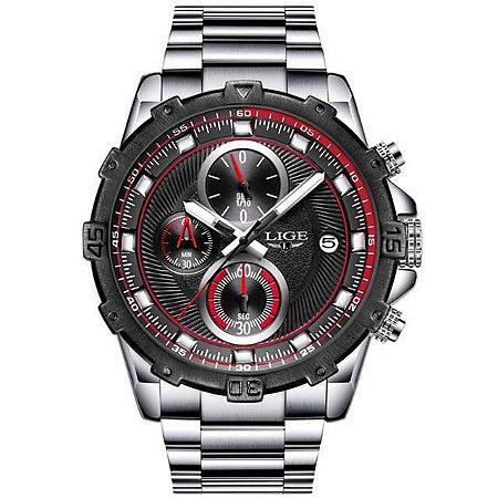 Relógio Masculino LIGE Super Speed