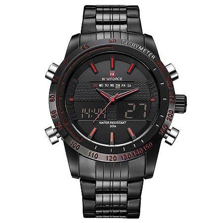 Relógio Masculino Digital Naviforce Magnific