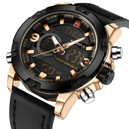 Relógio Masculino Digital Naviforce Luxury
