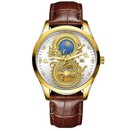 Relógio Masculino Solaris - Couro