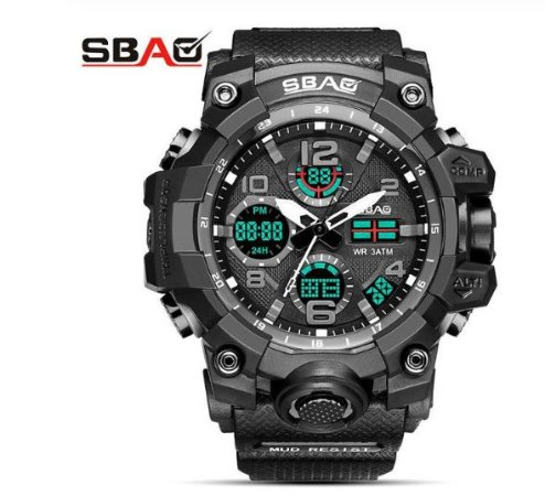 Relógio Masculino Shock Impact - Sbao