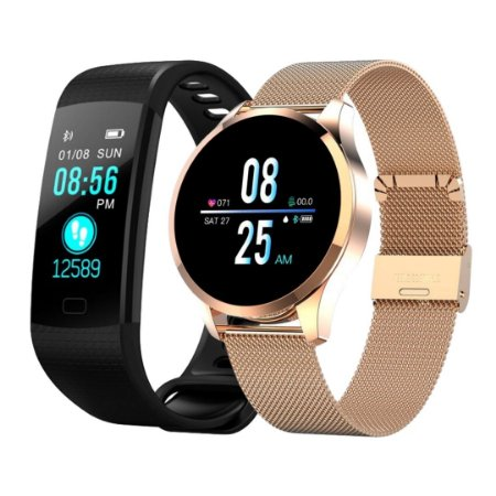 Kit com 2 Relógios Smartwatches - CF Gear + F4s