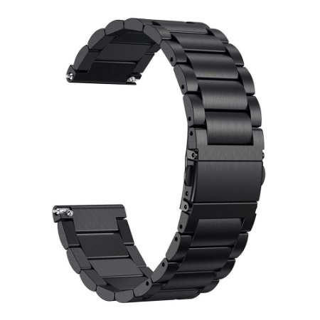 Pulseira em Aço Inox Para Relógios e Smartwatches - 18mm de largura
