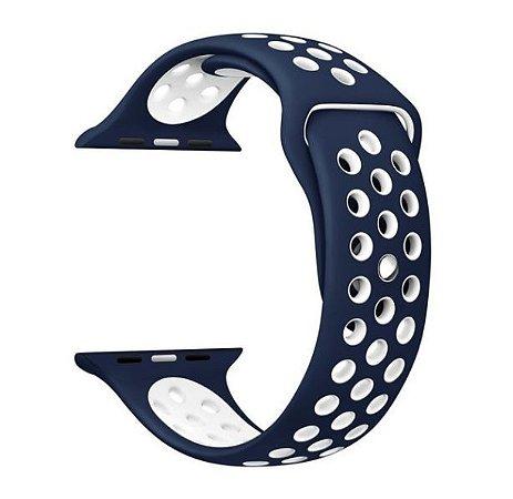 Pulseira em Silicone para o Smartwatch Apple Watch 42mm/44mm.