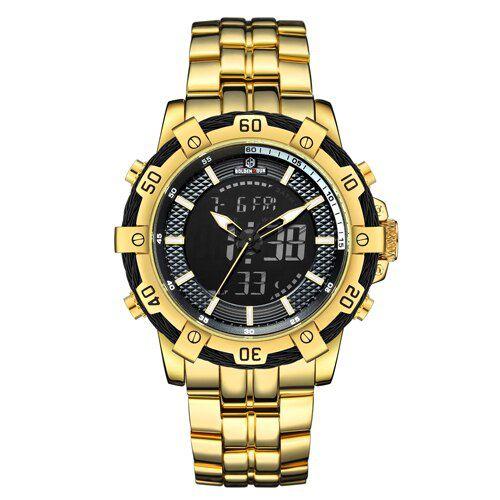 Relógio Masculino Digital Golden Hour Zeus
