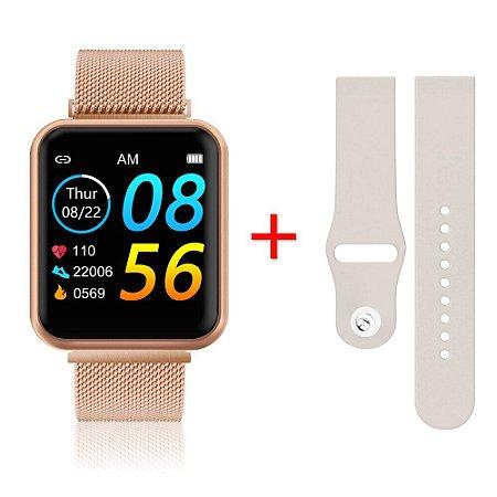 Relógio Eletrônico Smartwatch P90 IP68 - 42mm