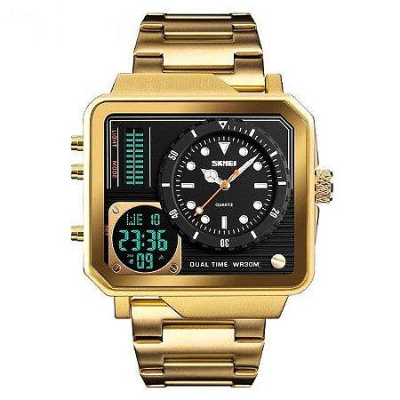 Relógio Masculino Digital Skmei Square