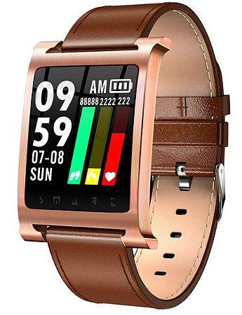Relógio Eletrônico Smartwatch Magnus K6 Inox - 45mm